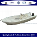 High side SW Panga 22D boat