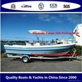 High side SW Panga 22D boat