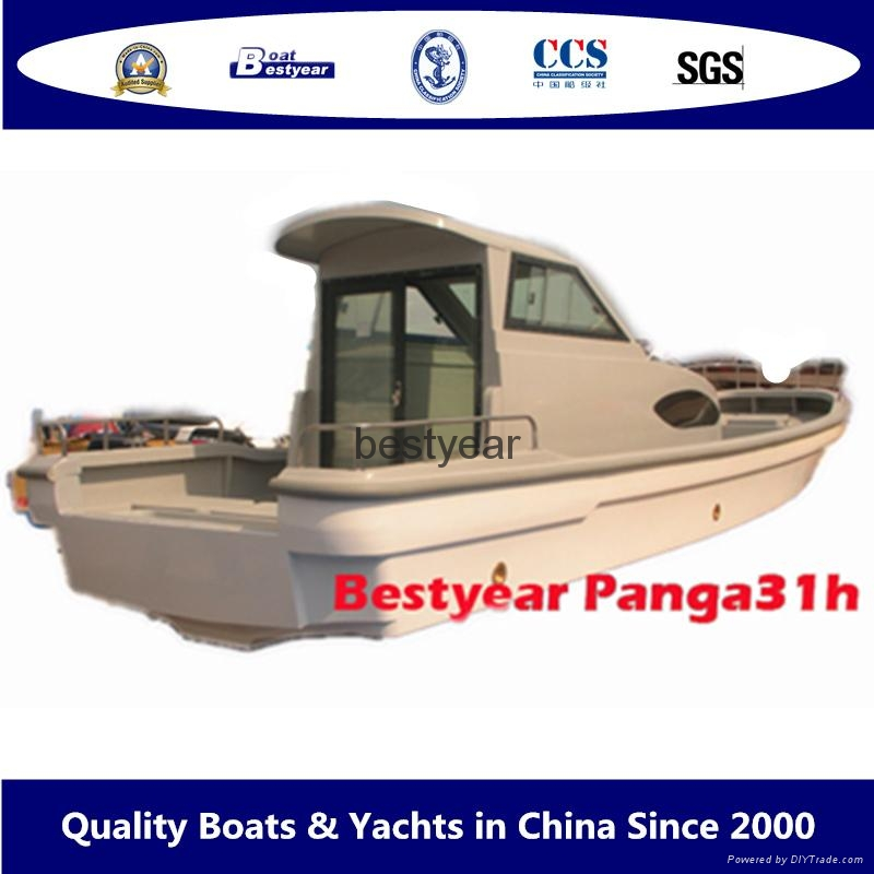 Panga 31 cabin fishing boat 4