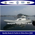 Panga 31 cabin fishing boat