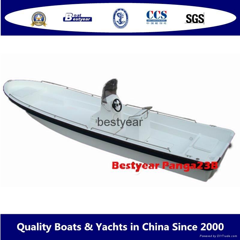 2011 model Panga23B fishing boat 1