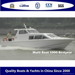 Multi Boat BY1000-Passenger,Patrol,Fishing,Family