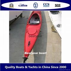 Plastic or GRP kayak