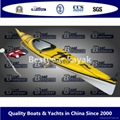Plastic or GRP kayak