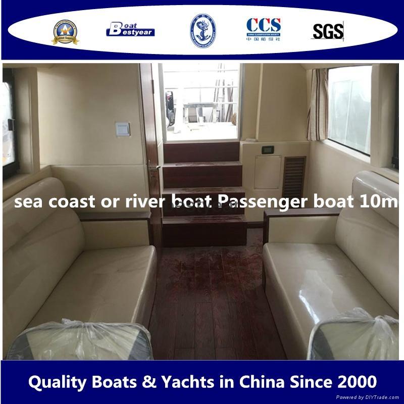 10m sea coast passenger boat 3