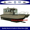 Alluminum alloy Working and Fishing Landing boat 3