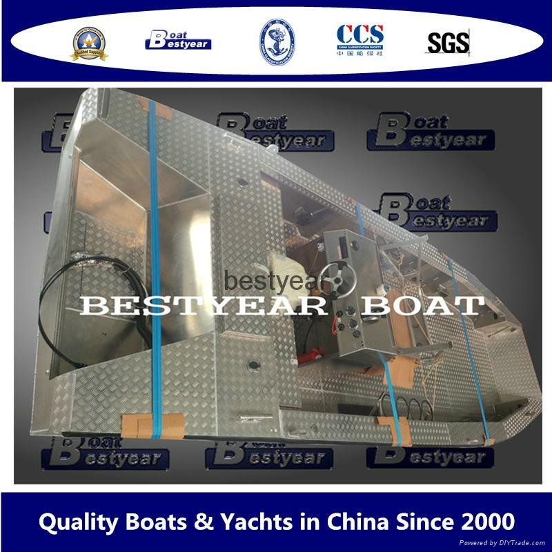 Aluminum centre console boat 1