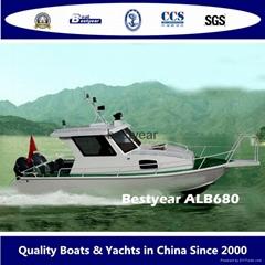 Aluminum Fishing Boat AL