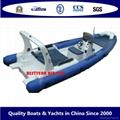 RIB700 boat
