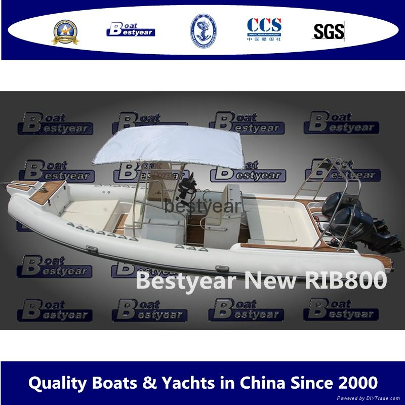Rib800 boat 1