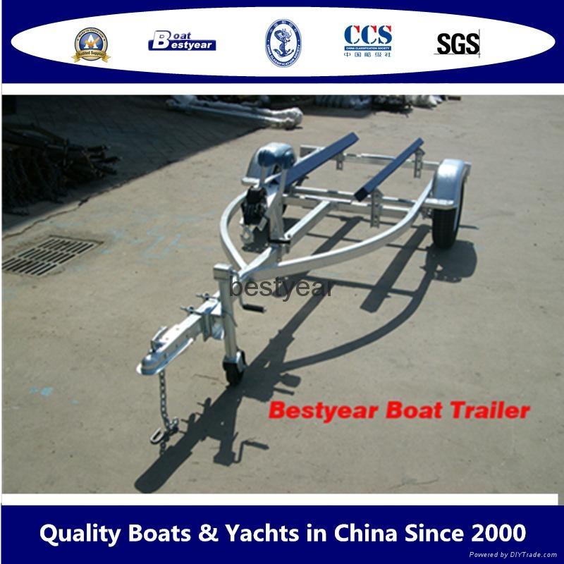 New model boat trailer and jetski trailer 1