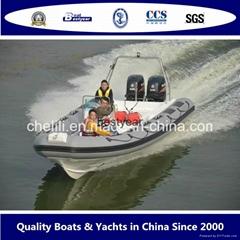 2016 New Rib850 Boat