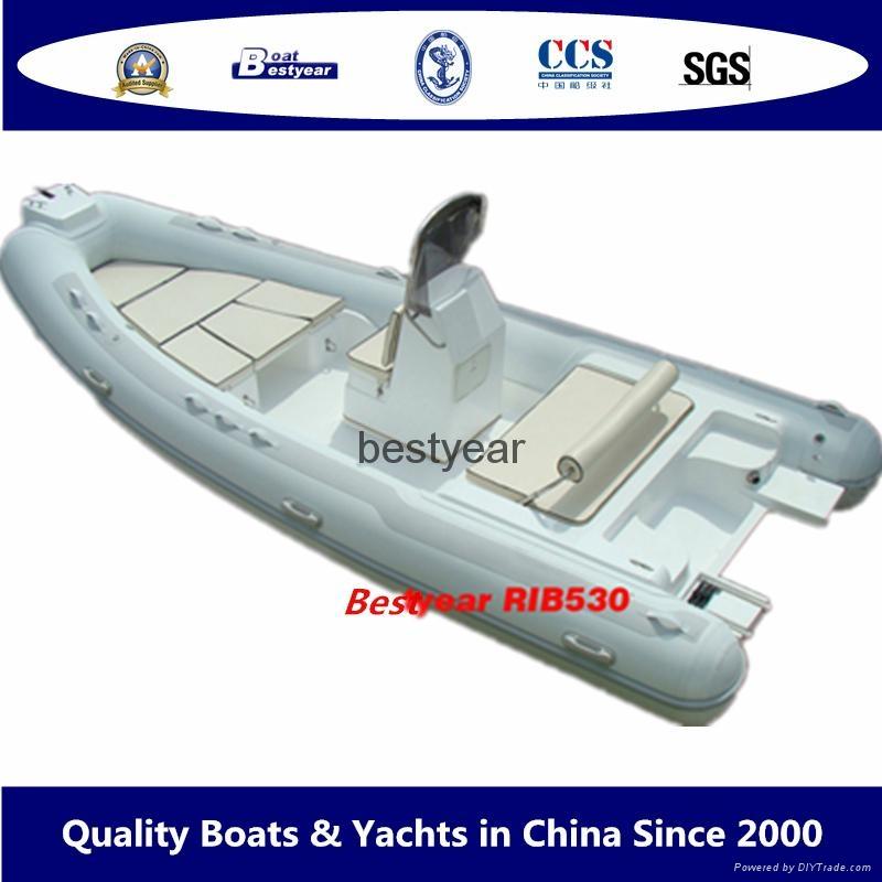 2010 model RIB530 boat 1