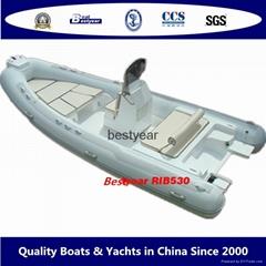 2010 model RIB530 boat