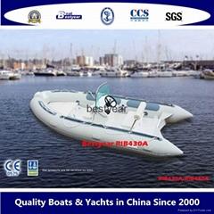 Rigid inflatable boat_RIB430a