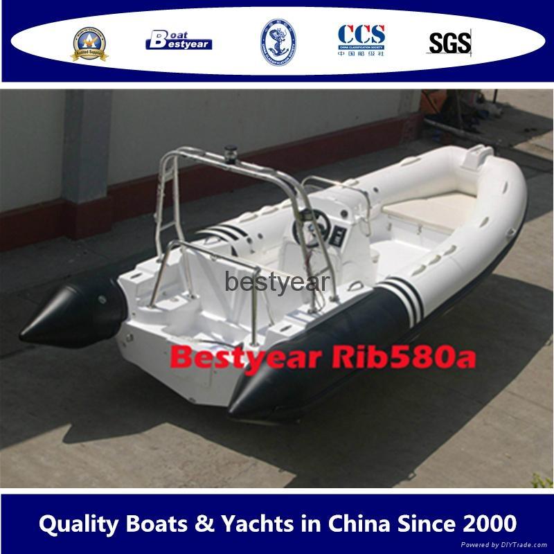 New Rib580a boat 1