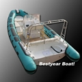 Rigid inflatable boats & Fiberglass