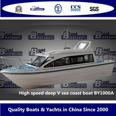 High Speed Sea Coast Boat By1000A and By1200A