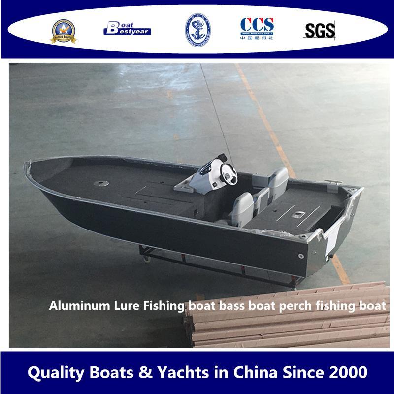 Aluminum Lure Fishing Boat Bass Boat Perch Fishing Boat 1