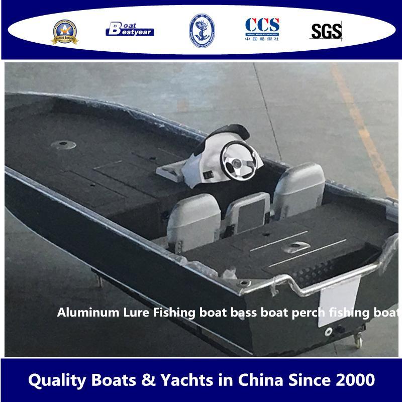 Aluminum Lure Fishing Boat Bass Boat Perch Fishing Boat 2
