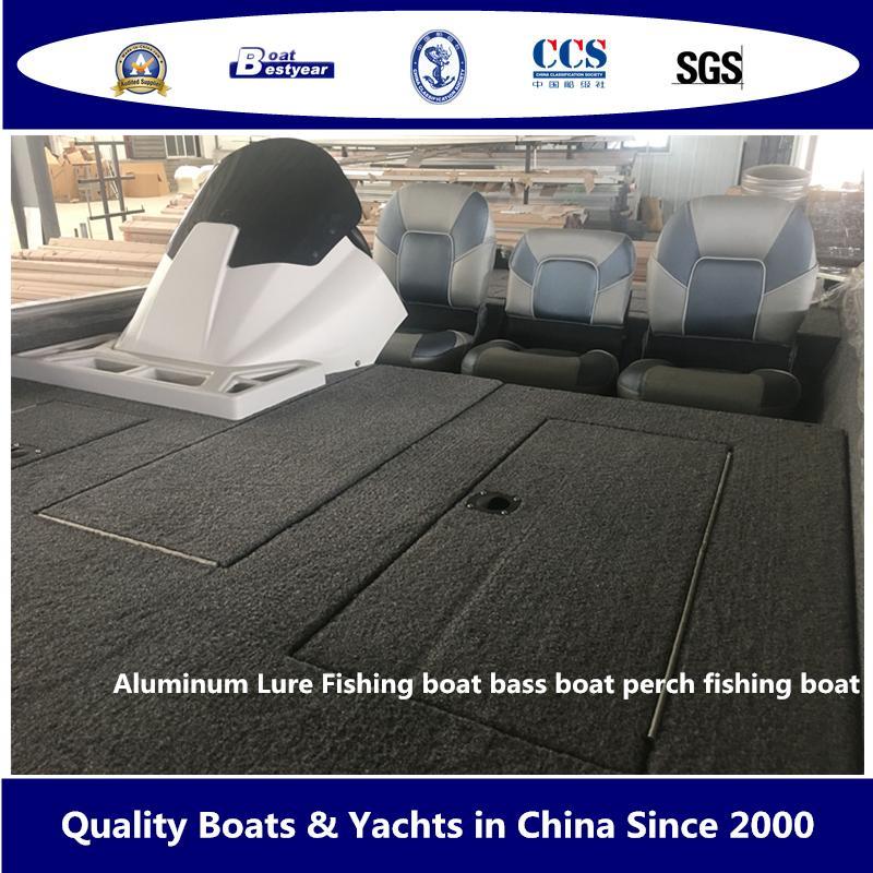Aluminum Lure Fishing Boat Bass Boat Perch Fishing Boat 3
