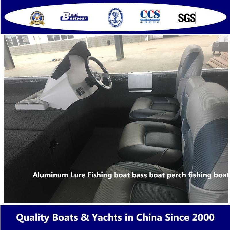 Aluminum Lure Fishing Boat Bass Boat Perch Fishing Boat 5