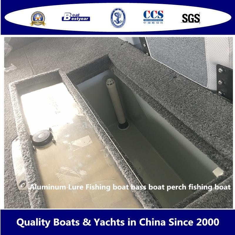 Aluminum Lure Fishing Boat Bass Boat Perch Fishing Boat 6