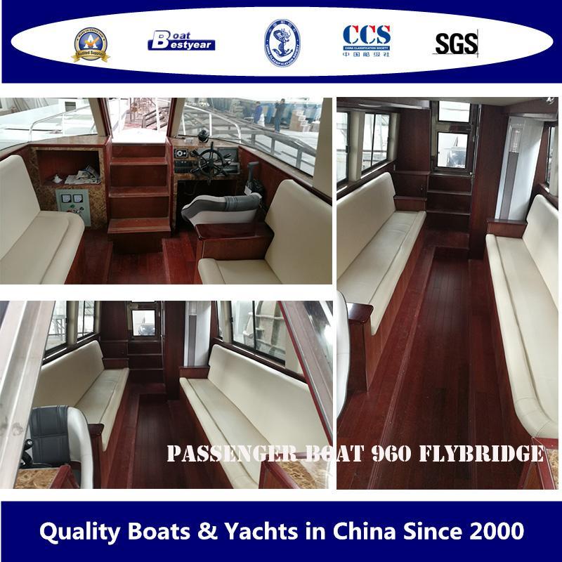 Bestyear Passenger Boat 960 Flybridge 4