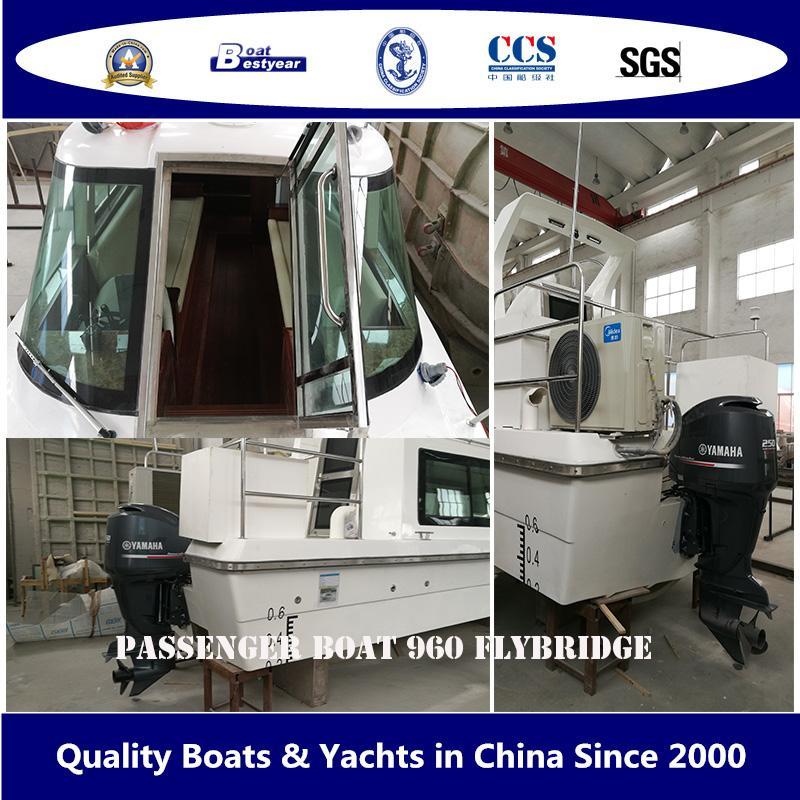 Bestyear Passenger Boat 960 Flybridge 3