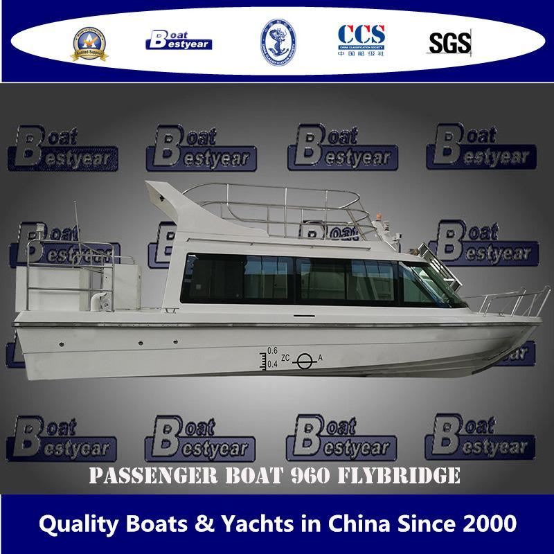 Bestyear Passenger Boat 960 Flybridge 1