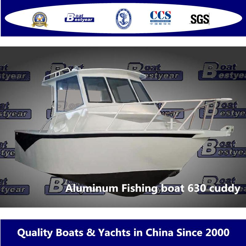 Bestyear Aluminum Fishing Boat 630 Cuddy 2