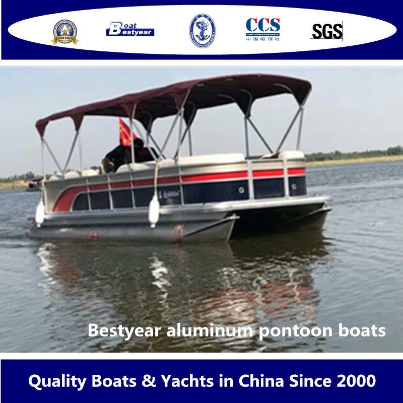 Bestyear Aluminum Pontoon Boats 1