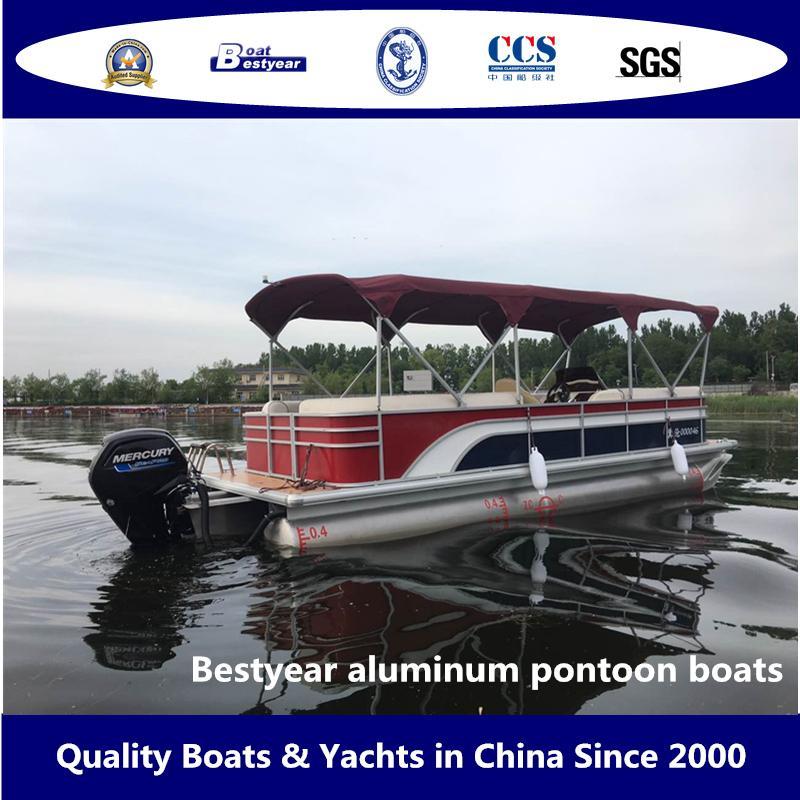 Bestyear Aluminum Pontoon Boats 3