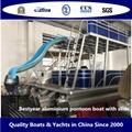Bestyear Aluminium Pontoon Boat with Slide 3