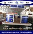 Bestyear Aluminium Pontoon Boat with Slide 2
