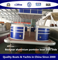 Bestyear Aluminium Pontoon Boat with Slide