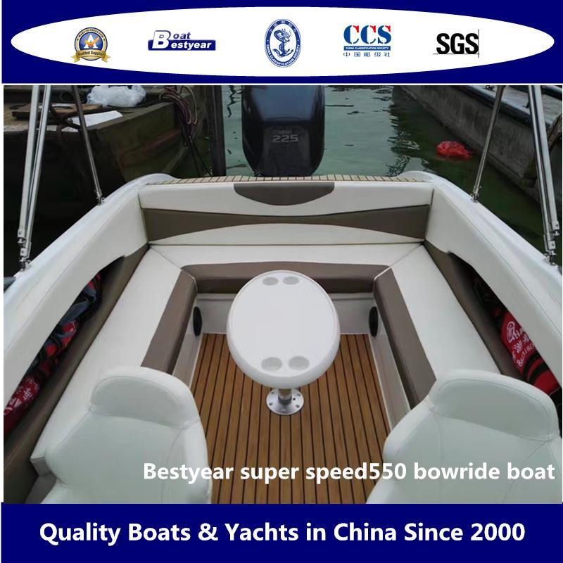 Bestyear Super Speed550 Bowride Boat 3