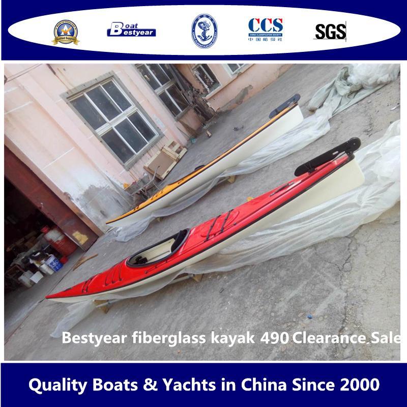 Bestyear Fiberglass Kayak 490 Clearance Sale 1
