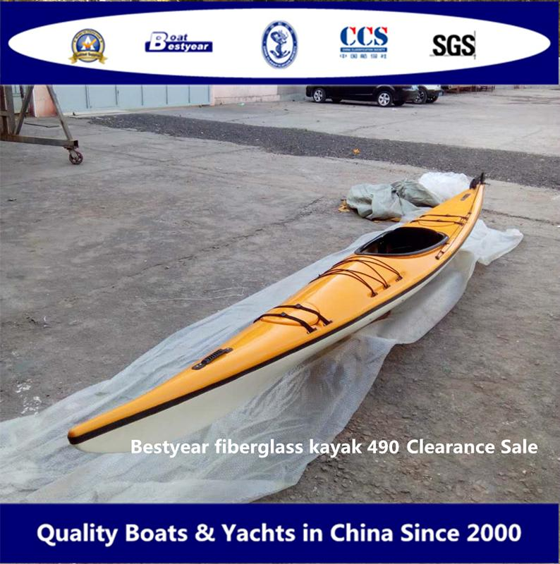 Bestyear Fiberglass Kayak 490 Clearance Sale 4