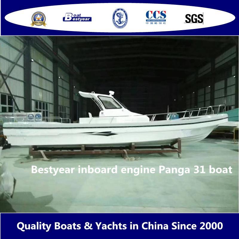 Bestyear Inboard Engine Panga 31 Boat 1