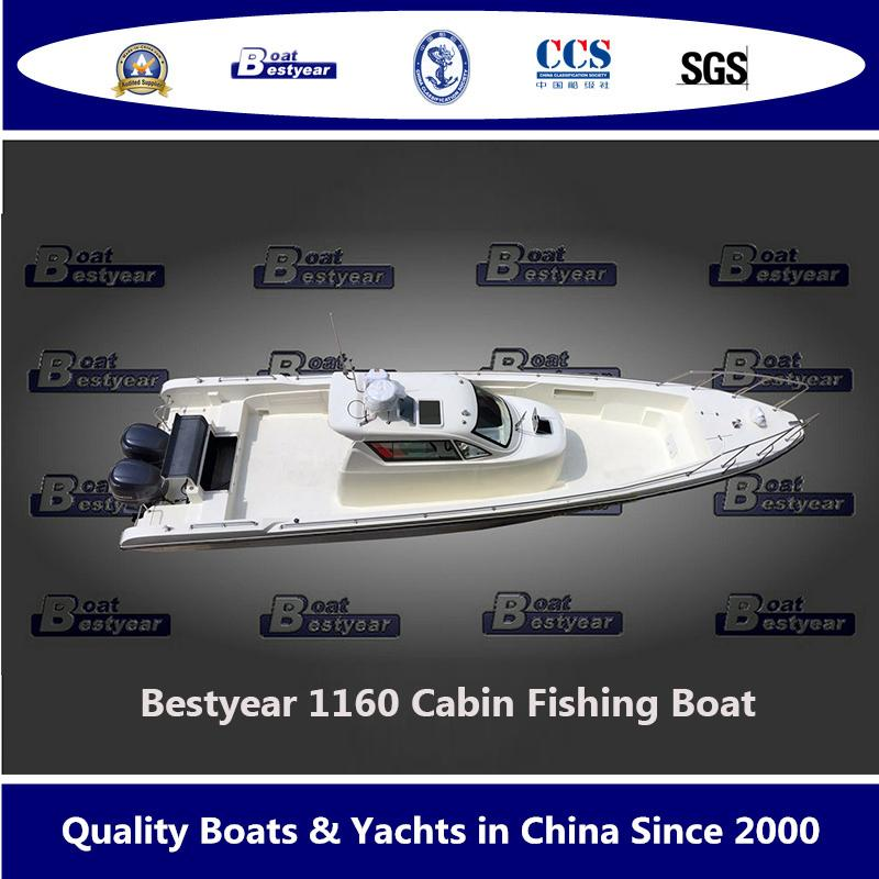 Bestyear 1160 Large Center Console Fishing Boat 1