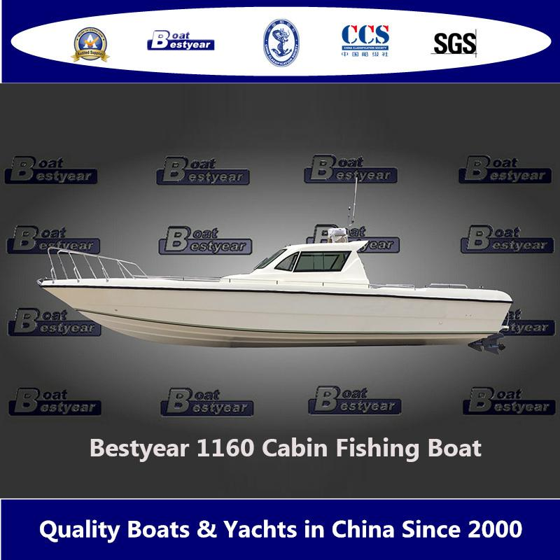 Bestyear 1160 Large Center Console Fishing Boat 2