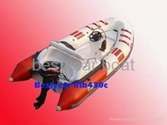 Rigid inflatable boat-Ri
