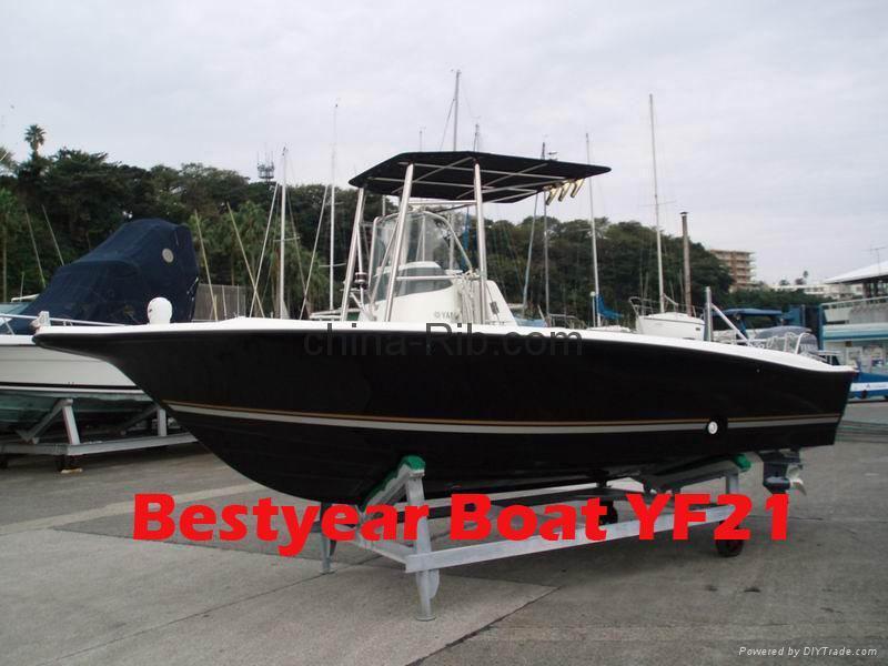 Rigid inflatable boats & Fiberglass boats 2