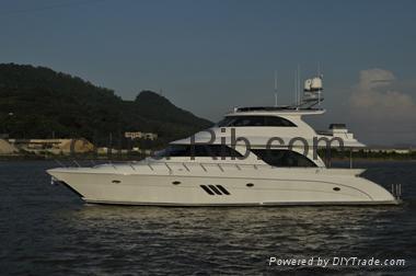 First class super luxury yacht Allmand 68  1