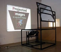 優迪特高反鏡背投反射系統