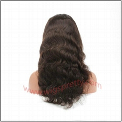 100% indian remy hair body wave full lace wig