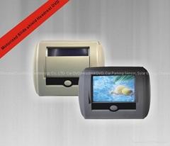 7''  Motorized slide shield Headrest DVD/USB/SD/IR/FM transmitter and Game Funct (Hot Product - 1*)