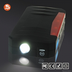 Car Jump Starter with emergency flash Light