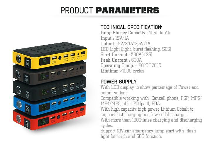 Emergency Car Battery Best Jump Starter 8